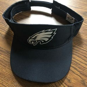 Eagles game day visor